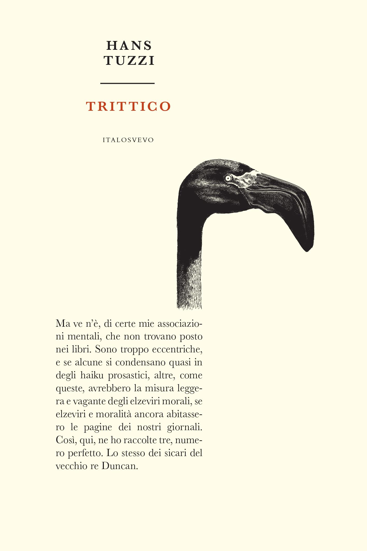 Italo Svevo Edizioni - Trittico - Tuzzi